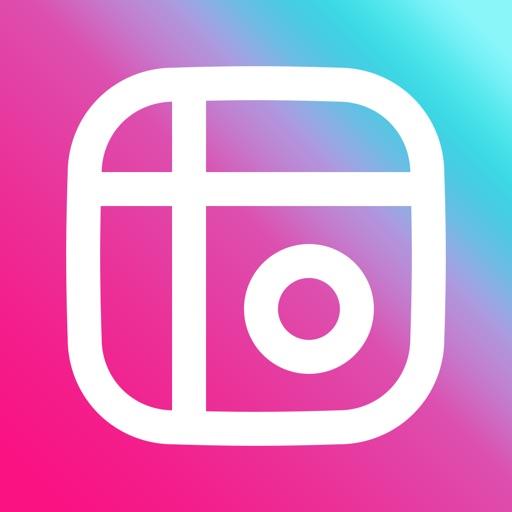 写真加工 - 画像編集 - コラージュ - Mixgram