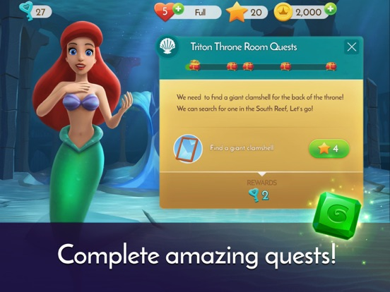Disney Princess Majestic Quest screenshot 8