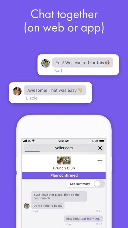 Yoller - Plan with friends screenshot-5
