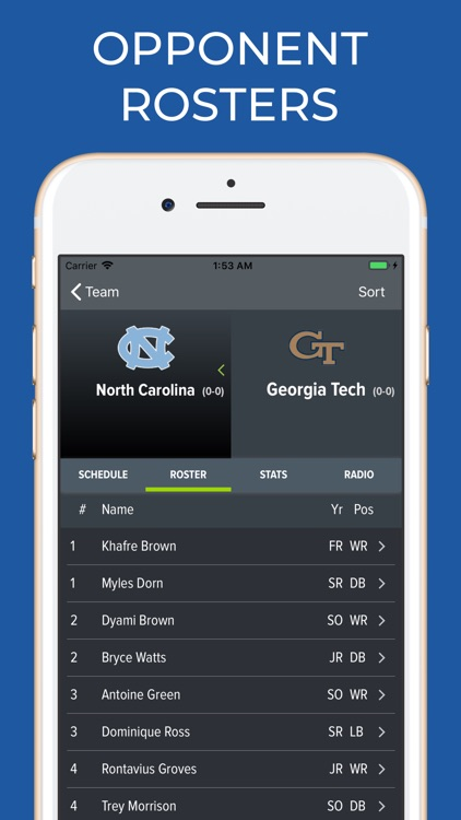 Georgia Tech Football screenshot-6