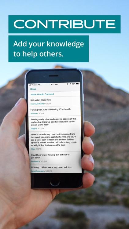 Guthook Guides: Hike Offline screenshot-4