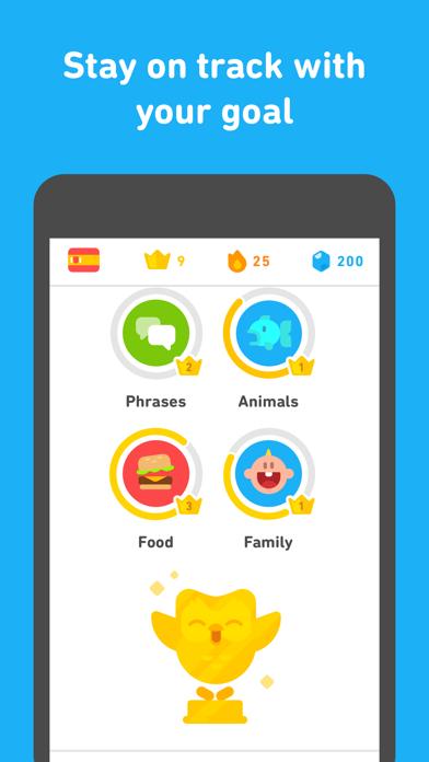 Screenshot for Duolingo in United States App Store