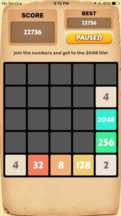 2048 Number Puzzle Game. screenshot-4