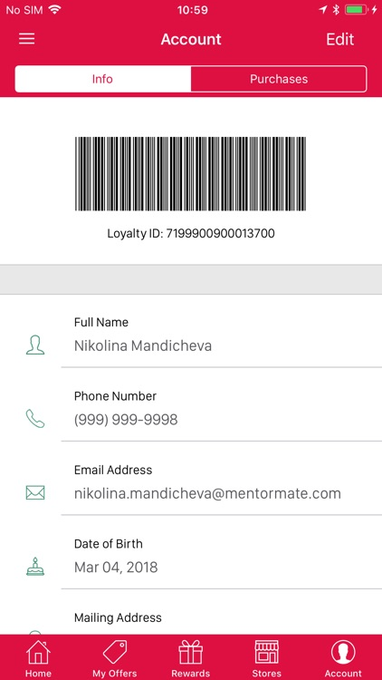 Rewards Program Mobile screenshot-4