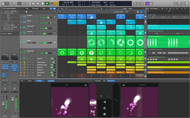 ‎Logic Pro Screenshot