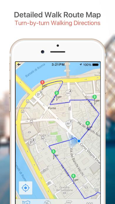 Screenshot for Vienna Map & Walks (F) in Turkey App Store