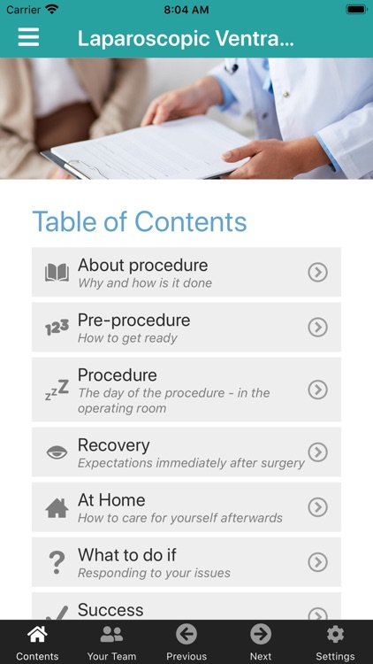 Patient's Guide to a Procedure