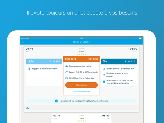 Screenshot #6 pour KLM
