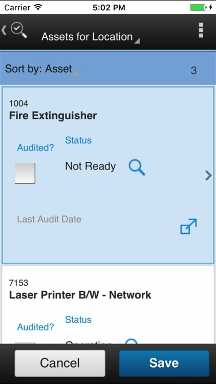 IBM Maximo Asset Audit