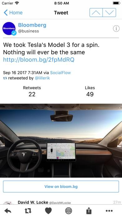 Tweetings Screenshots