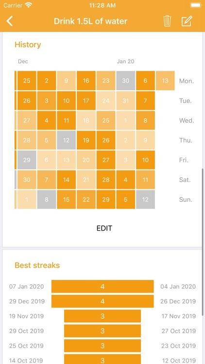 Habit Tracker - Your Goals screenshot-5