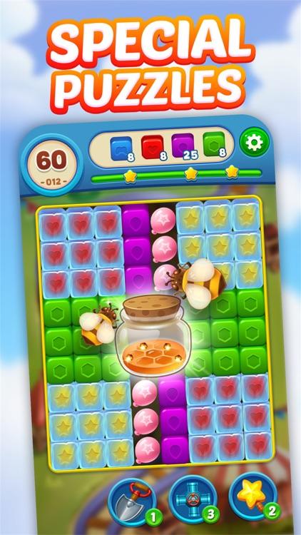 Toy Brick Crush - Tapping Game