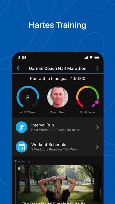 messages.download Garmin Connect™ software
