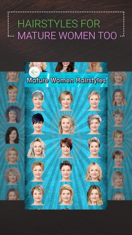 Perfect Hairstyle-Women & Men screenshot-7
