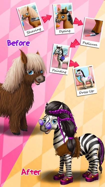 Animal Hair Salon & Dress Up screenshot-5