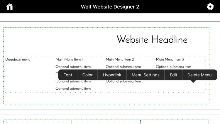 Wolf Website Designer 2 screenshot-7