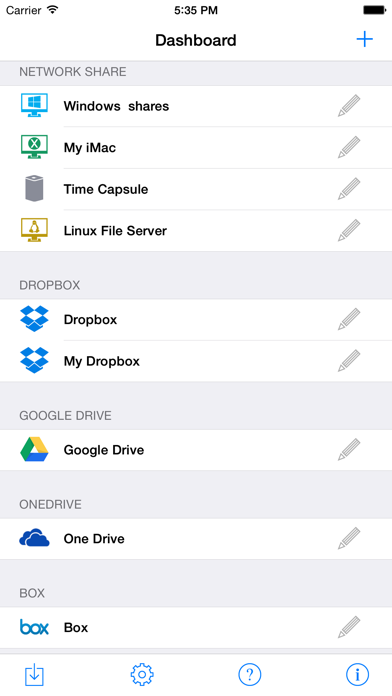 Remote File Manager Screenshots