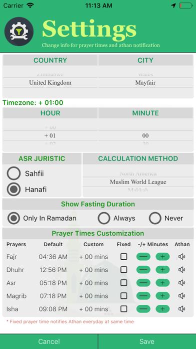 Persian Iranian Calendar screenshot three