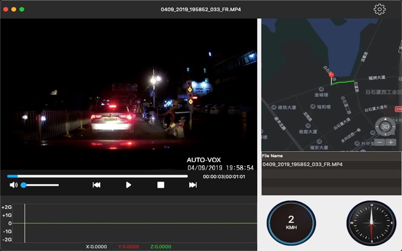 AUTO-VOX GPS Player for Mac