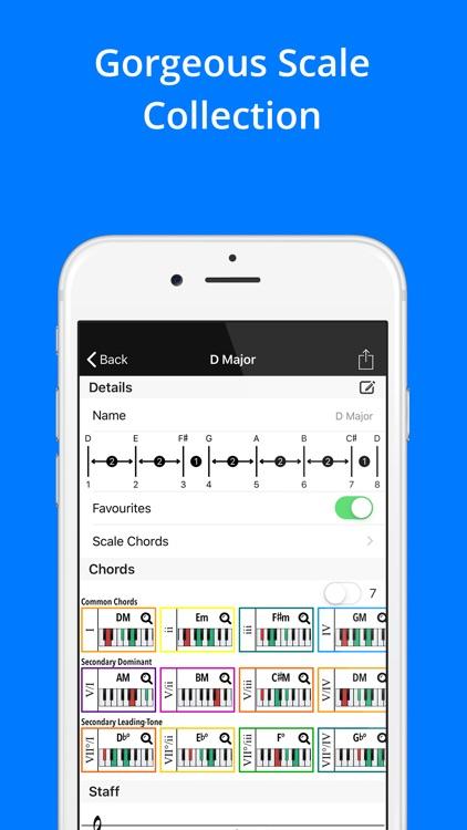 Piano Chords, Scales Companion screenshot-4