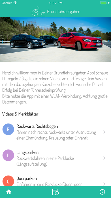 Screenshot for Grundfahraufgaben in Germany App Store