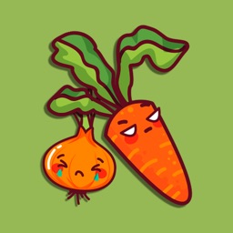 Cartoon Foodie Stickers