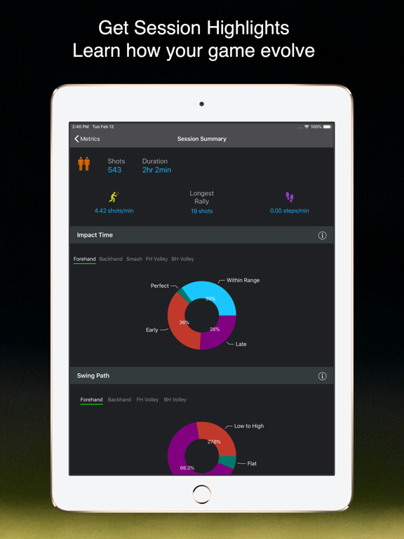 TennisKeeper - Tennis Activity, Scores, and Steps Tracker screenshot