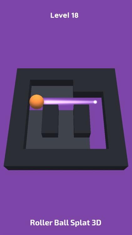 Roller Ball Splat 3D screenshot-3