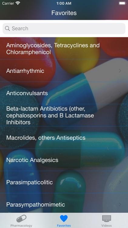 Farmacología Clínica screenshot-3