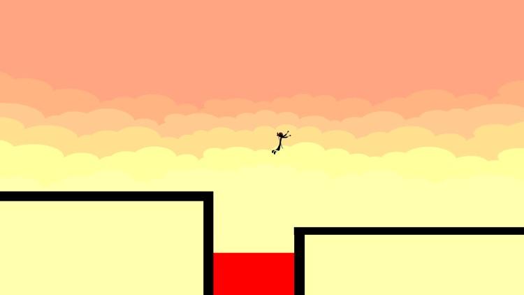 Stickman Parkour - Ninja Race screenshot-0