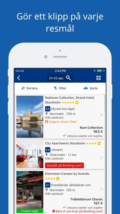 Screenshot for Booking.com – reseerbjudanden in Sweden App Store