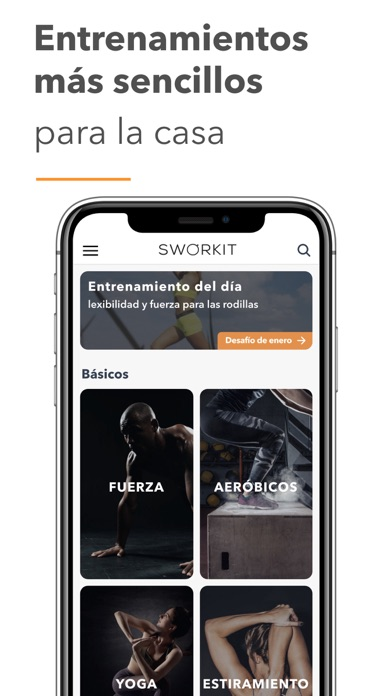Descargar Sworkit Entrenador de fitness para PC