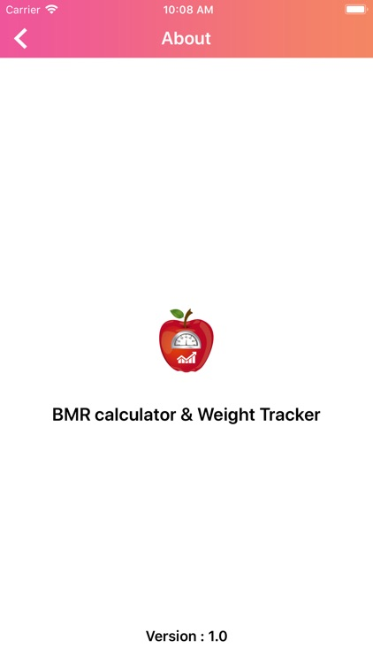BMR calculate & Weight Tracker screenshot-6