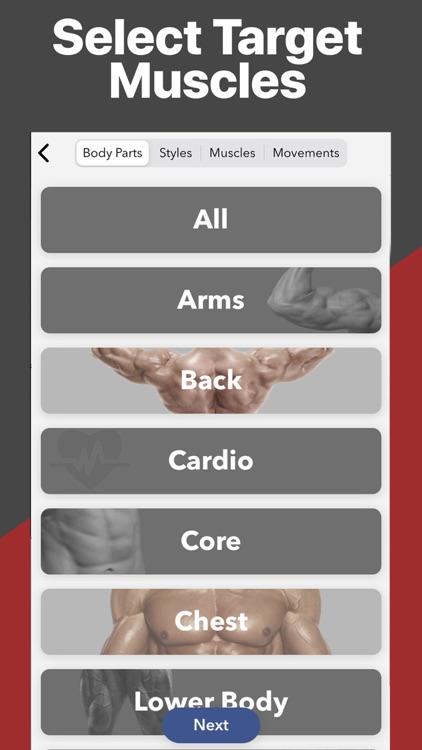 Gymster+ Weight Lifting Log screenshot-3
