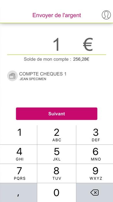 CMSO Paiements Mobile screenshot two
