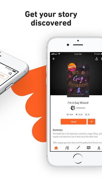 Screenshot for Wattpad in United States App Store