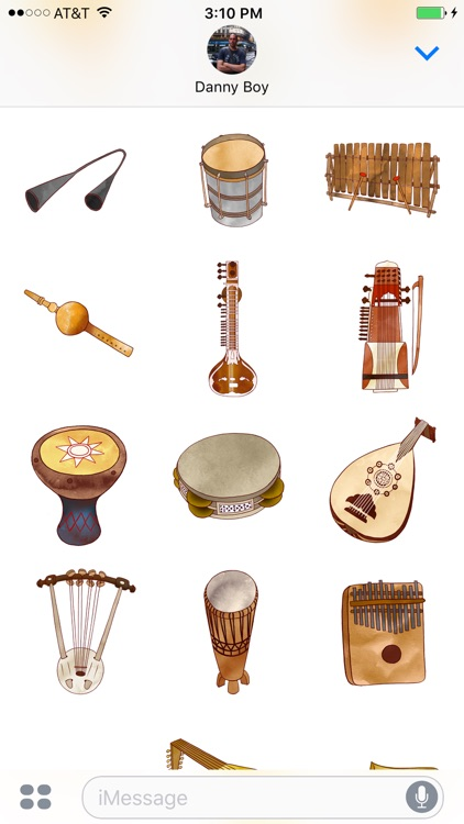 Jazzy Musical Instruments