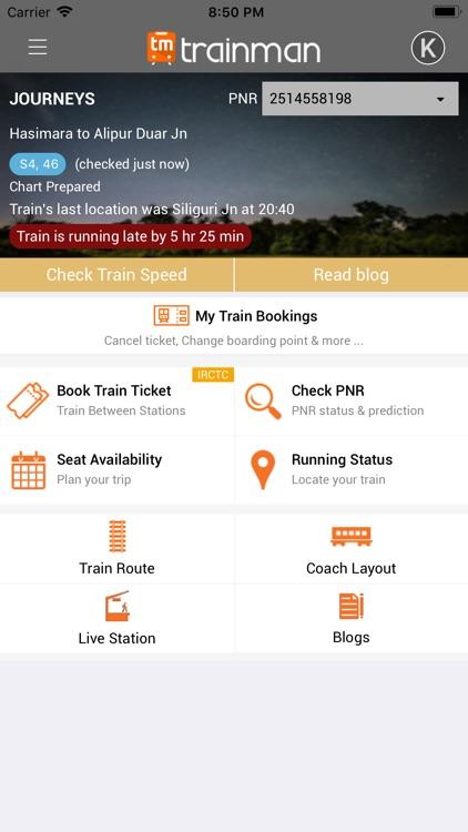 Trainman PNR Status Prediction