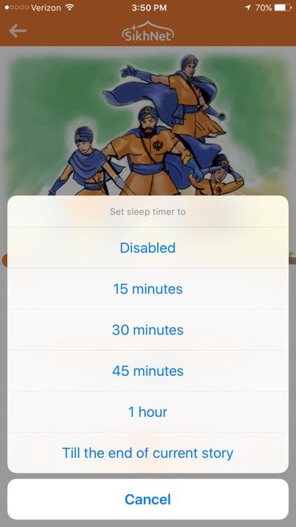SikhNet Audio Stories for Kids screenshot-3