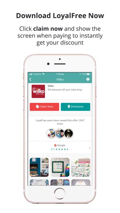 LoyalFree: Find deals & events screenshot three