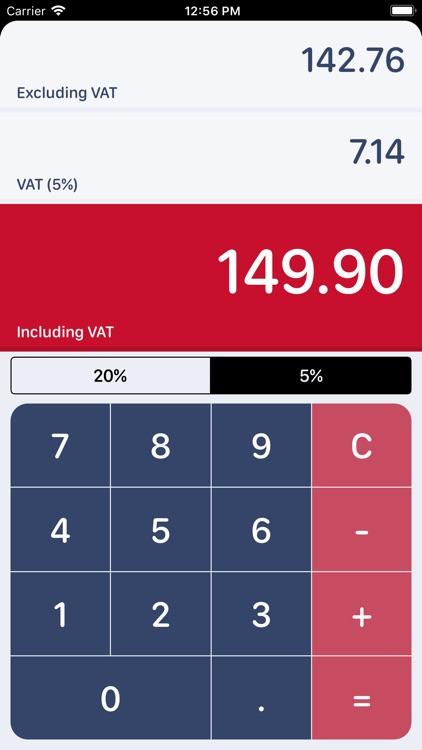 UK VAT Calculator screenshot-3