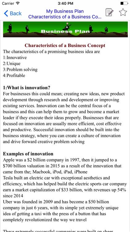 Business Plan(BP) screenshot-3