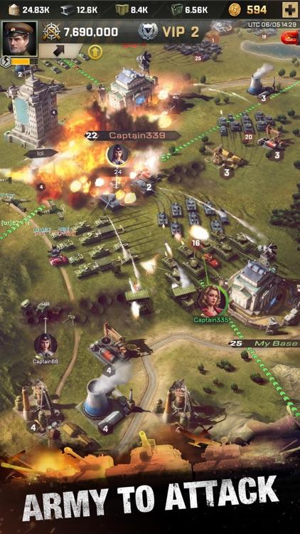 Kiss of War screenshot-6
