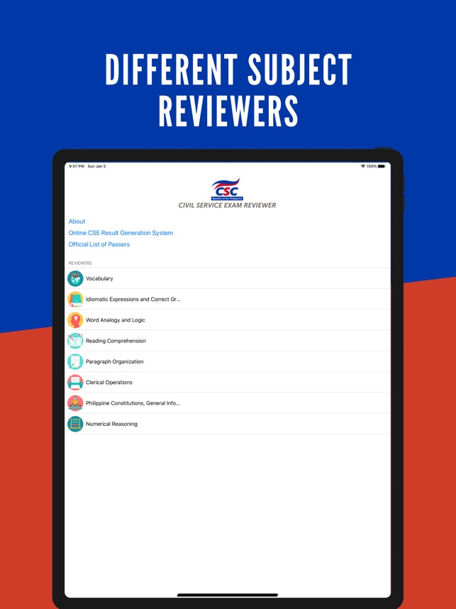 Civil Service Exam Reviewer On The App Store