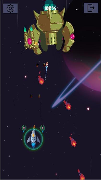Galaxy war, Space shooter screenshot-5