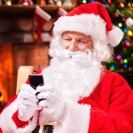 Santa Chat with Photo Message