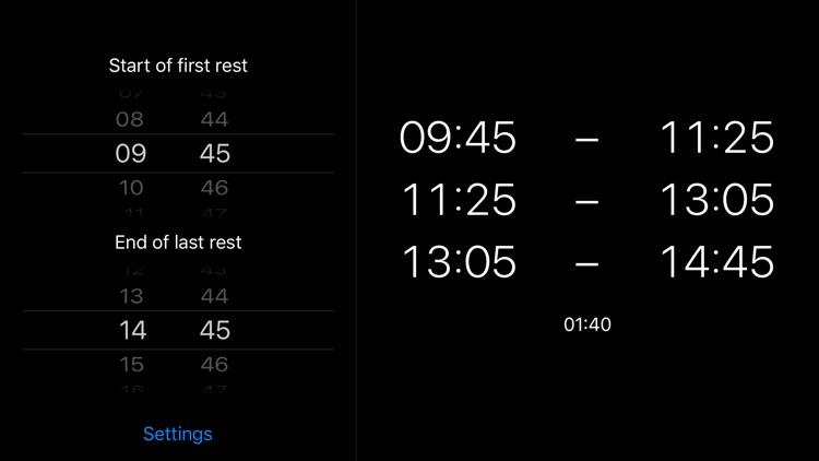 Pausenrechner screenshot-6
