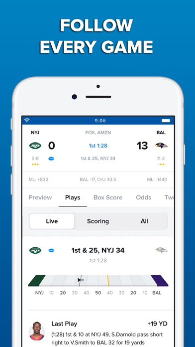 Screenshot for CBS Sports App Scores & News in United States App Store