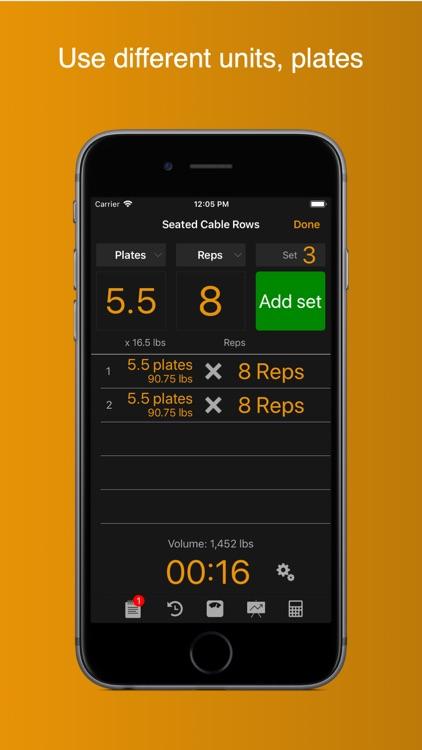 Gym Horn: Weight Lifting Log screenshot-5
