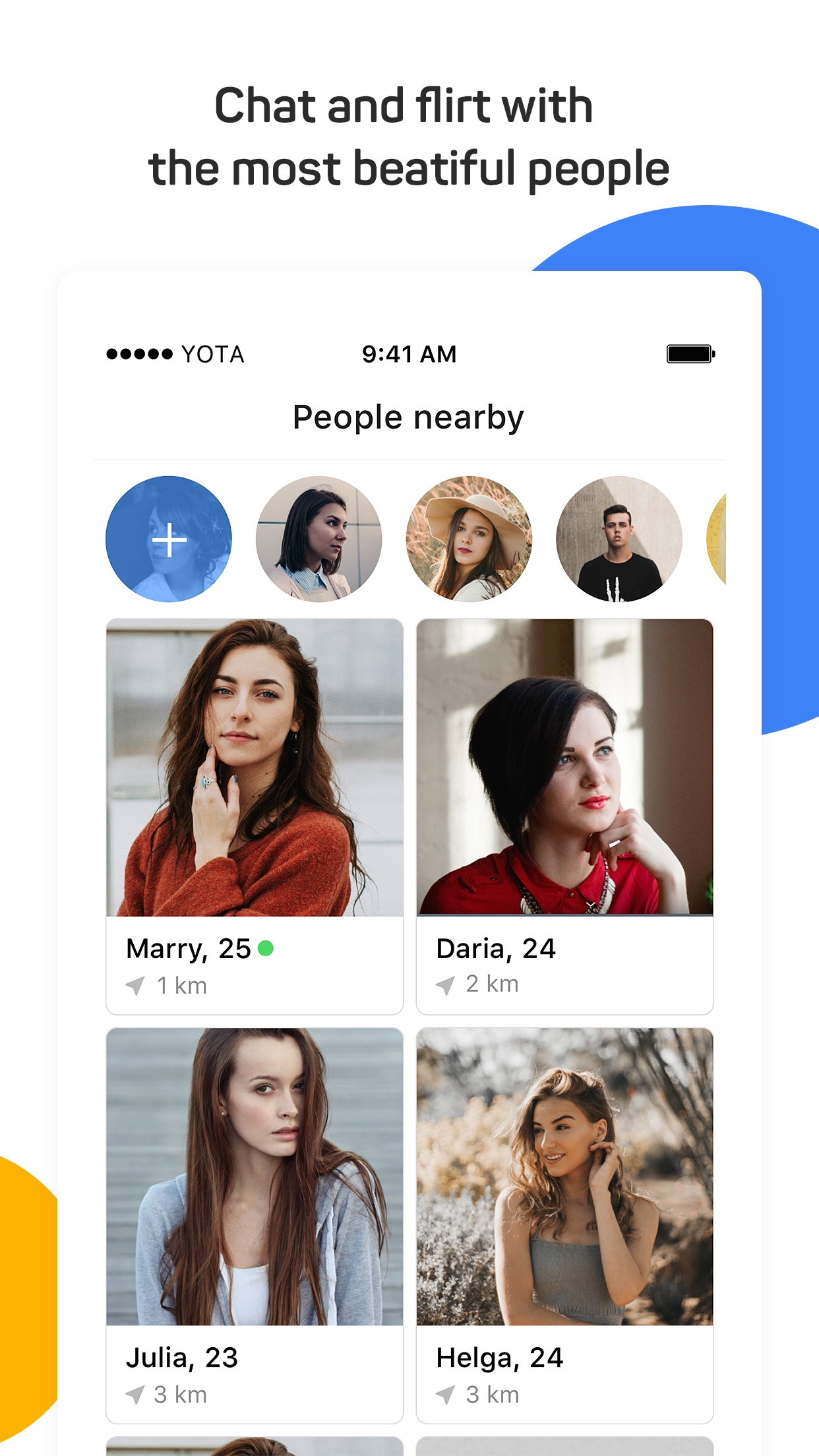 Topface: aplikasi dating Screenshot